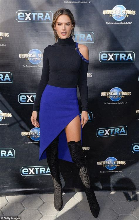 Alessandra Ambrosio Promotes Something Or Another by 1000 Ideas About S Skirts On Designer