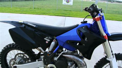 new 2 stroke motocross 2002 yamaha yz250 2 stroke motocross bike doovi
