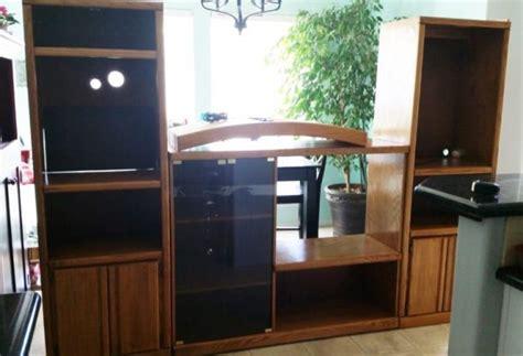 diy wall unit entertainment center diy craft room wall storage organizer unit furniture