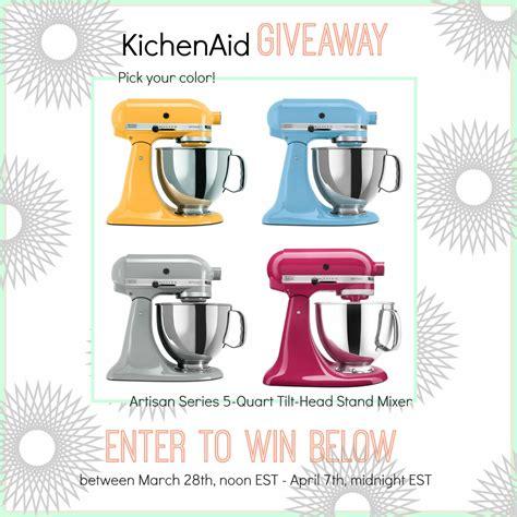 Kitchenaid Giveaway - kitchenaid giveaway something swanky