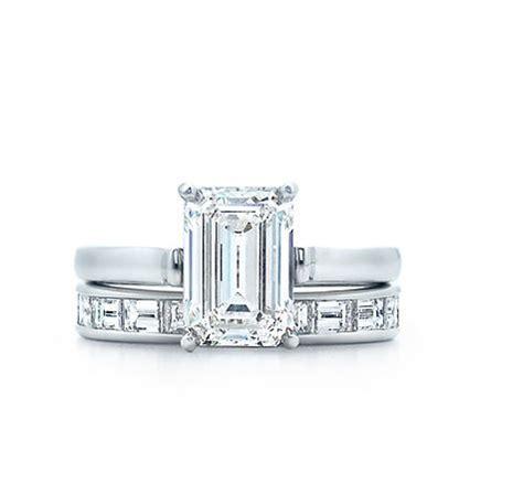 tiffany co engagement rings emerald cut wedding