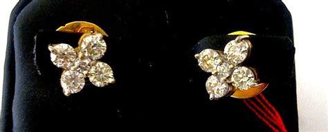 Anting Emas Mt Bunga Tetes toko berlian kalimantan anting anting model mawar