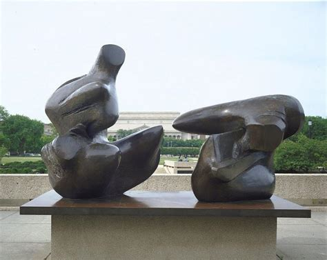 reclining figure sculpture two piece reclining figure points sculpture by henry