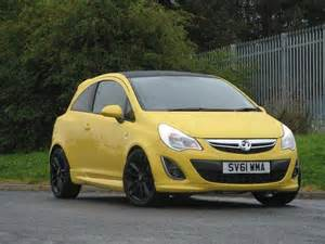 Yellow Vauxhall Corsa Used Vauxhall Corsa 2011 Yellow Colour Petrol 1 2i 16v
