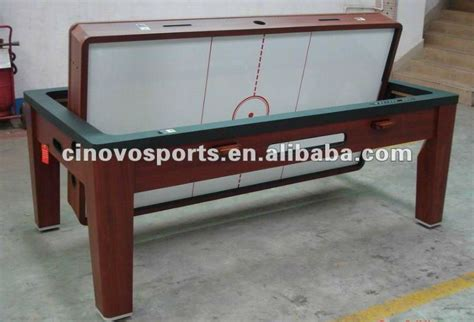 wood air hockey table multi table spin around pool table air hockey table