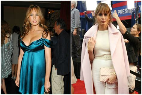 airliner sheer and ward cover melania finally put some clothes on