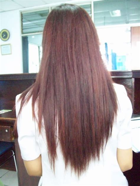 hair that shaped in an upside down v long layered hair v shape front view www pixshark com