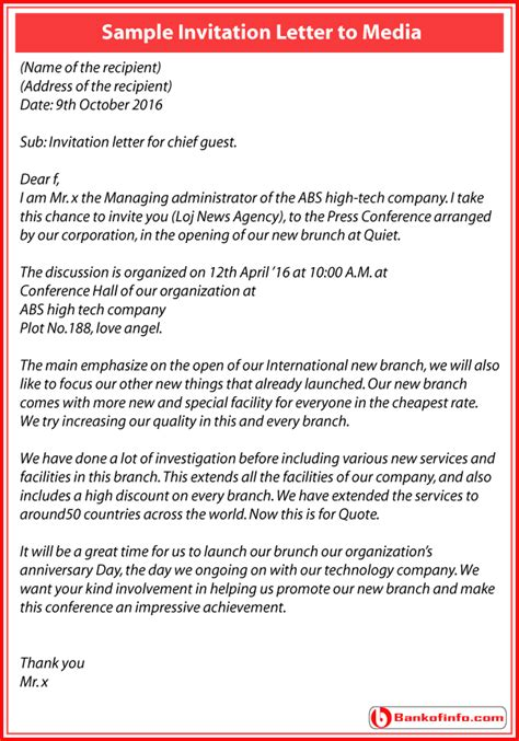 exle of formal letter to the press invitation letter for event launch tomyumtumweb com