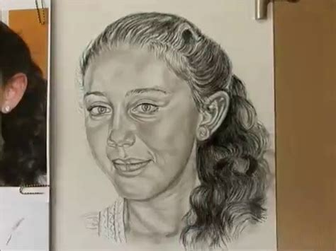Sketches For 9 Year Olds by Charcoal Pencil Portrait Drawing Of 9 Year