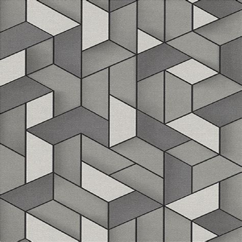 black and white geometric wallpaper uk erismann levante 3d geometric textured embossed vinyl