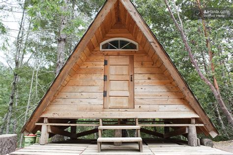 quot a frame quot rustic grid cabin in gasquet