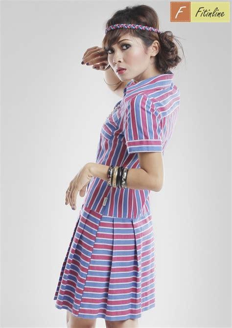 Wanita Line Stripe fitinline cara mudah membuat pola low waist line