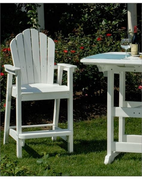 envirowood outdoor furniture quality patio and outdoor furniture store envirowood adirondack classic bar chair envirowood
