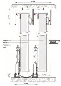rail pour porte placard coulissante obasinc