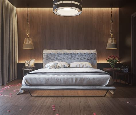 Wooden Bedroom Design 11 Ways To Make A Statement With Wood Walls In The Bedroom