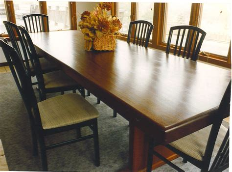 custom dining room table hand made dining room table by cabinetmaker birdie miller