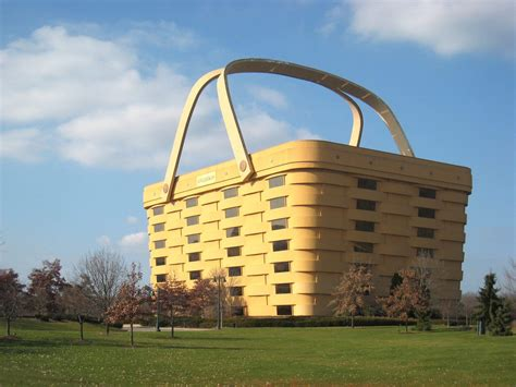 longaberger employees leaving iconic basket building in