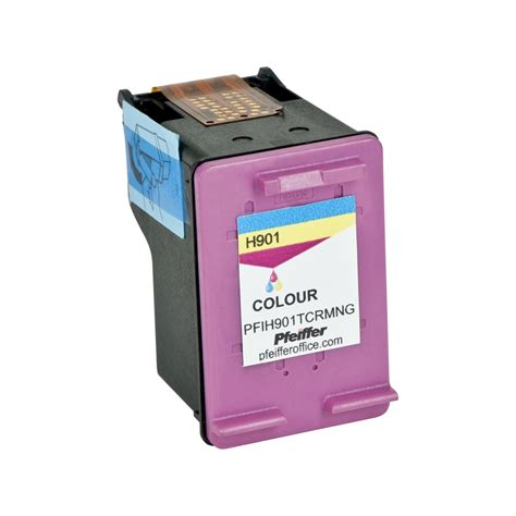 hp 901 color hp 901 tri color ink cartridge by pfeiffer