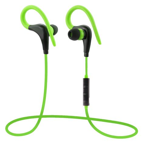 New Sport Outdoors Wireless Earphone With Bluetooth V 41 2016 new fashion wireless sports earphone with mic remote bluetooth 4 0 stereo headset