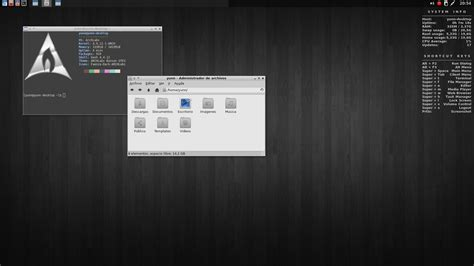 arch labs entornos gnu linux be free be gnu linux
