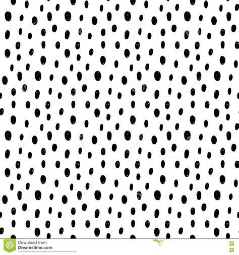 polka dot seamless pattern background hand drawn vector hand drawn polka dot seamless pattern cartoon vector
