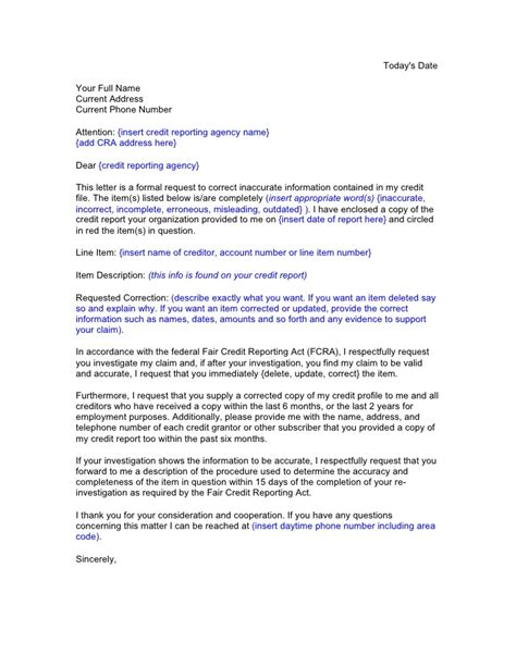 Sle Mortgage Dispute Letter Sle Letter For Credit Report Dispute 28 Images Credit