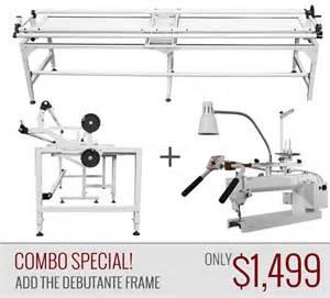 tin lizzie empress 18 inch arm quilting machine