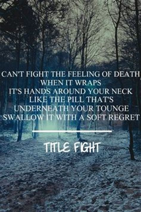 Shed Lyrics Title Fight by 1000 Images About Basement And Title Fight On