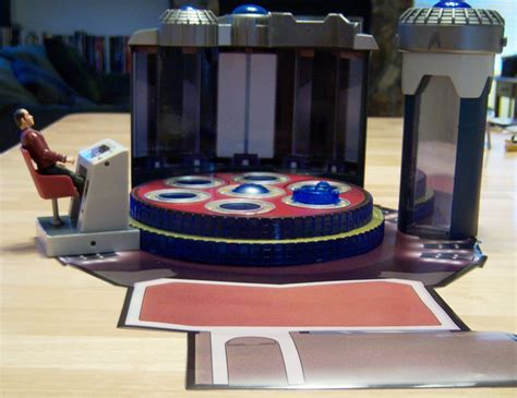 Transporter Room by Playmates Week Day 2 Review Of Trek Playsets