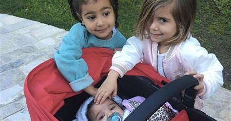 Penelope Has A New by West And Penelope Disick Show Baby Some