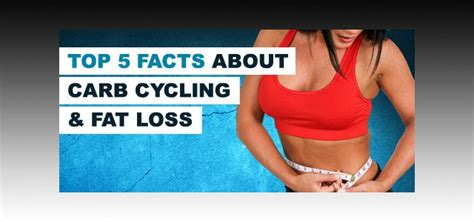top 5 carbohydrates supplements top 5 facts you should about carb cycling and