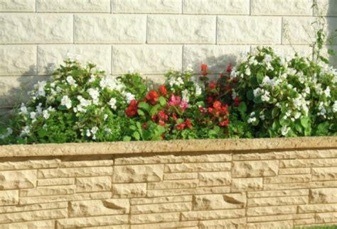 muretti prefabbricati per giardino decorazione di giardini sas prefabbricati in calcestruzzo