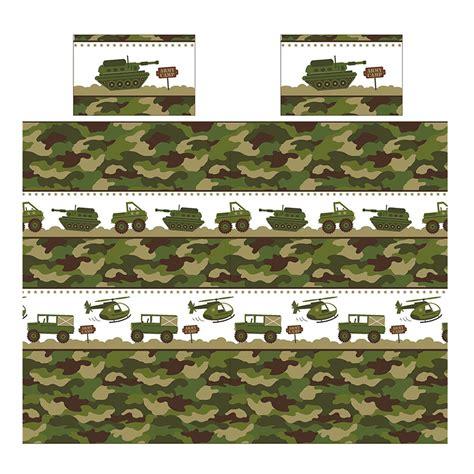 Bettwäsche Größen by Armee Cing Doppelbett Bezug Set Neu Tarnfarbe Soldat