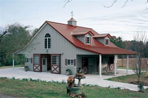 living in a barn horse barn with living quarters above barns pinterest