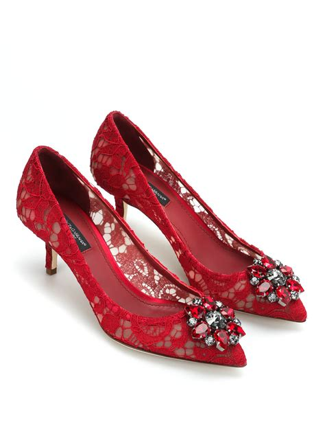 lace court shoes by dolce gabbana court shoes ikrix