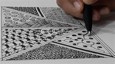 how to make doodle tutorial how to draw zentangle pattern zentangle for beginners
