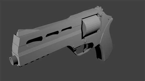 blender 3d models s rhine revolver blender 3d model