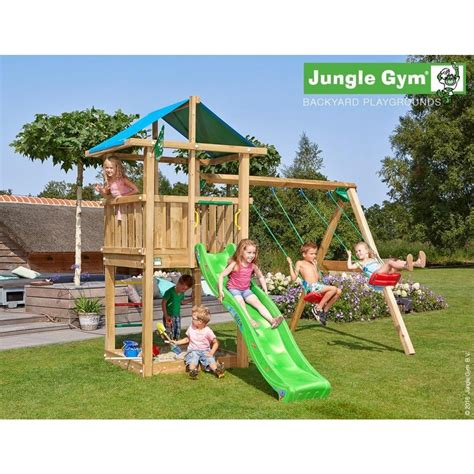 jungle gym swing jungle gym wooden jungle hut climbing frame playset with
