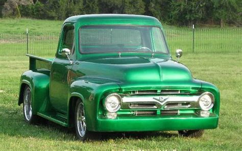 truck you truck you a green 1955 ford f 100 ford trucks com