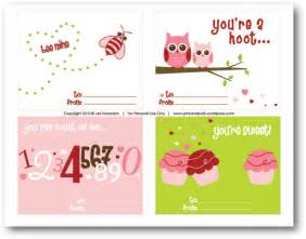 free printable cards for pink posh designs