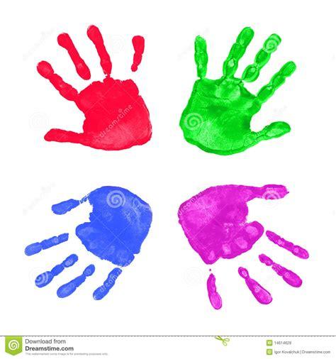 imagenes libres manos impresiones coloridas de las manos im 225 genes de archivo