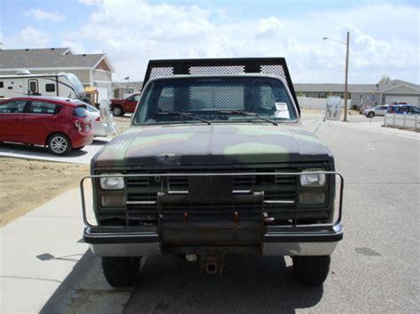 1986 chevrolet 4x4 1986 chevrolet d30 4x4 cucv truck