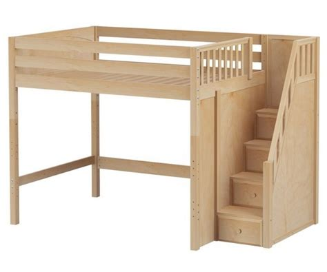 full size bunk beds with stairs full size loft bed with stairs full size loft bed with
