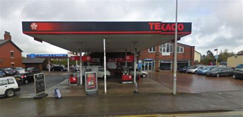 Texco Garage by Supermarket Plan For Broughton Petrol Station