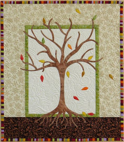 Tree Quilts by Saguita Quilts May Giveaway Day Winter Harvest
