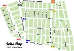 Soho New York Map by Soho New York Map