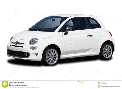 Two Door Small Car Stock Photo Image 90588994