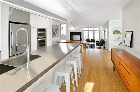 Kitchen Islands With Cabinets How To Clean Stainless Steel For A Sparkling Kitchen