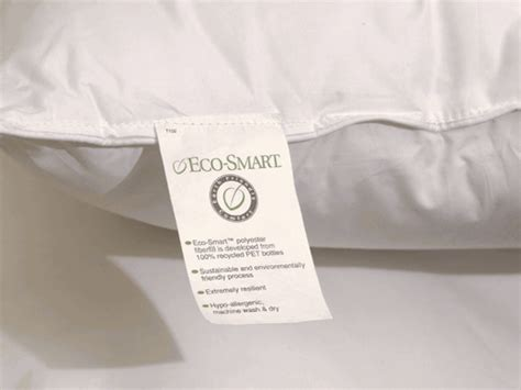 louisville bedding company pillows down alternative eco smart pillow set 2 king size pillows
