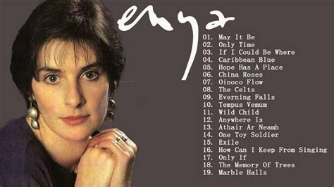 enya best enya best songs collection the greatest hits of enya